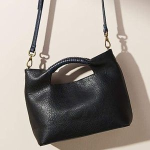 NEW Anthropologie Lana Tote Bag Removable Strap Fa